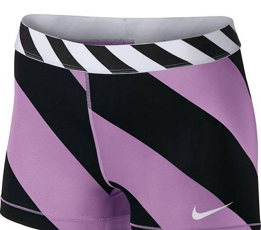 Шорты Nike Pro Diagonal Stripe 3 642574-510, фото 2