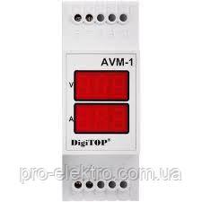 Амперметр-вольтметр DigiTOP AVM-1, фото 2