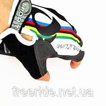 Вело перчатки беспалые Pearl Izumi (SPORT) разноцветные, фото 3
