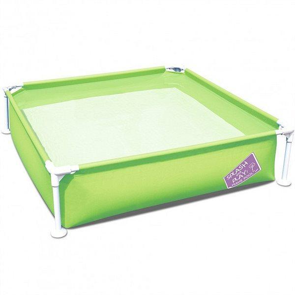 Детский каркасный бассейн Bestway 56217 «Мой первый каркасный бассейн» 122х122х30,5 см 365 л