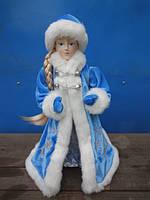Снегурочка в голубой шубе, 35,5 см,  (600052-2)