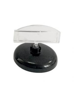 Универсальный магнитный ценникодержатель на круглой подставке
