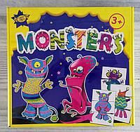 "Развивающая игра ""Monsters"" 106148 Мастер Украина"