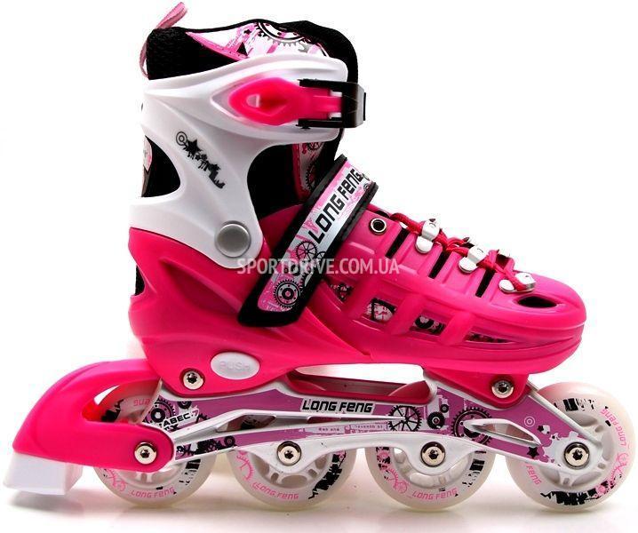 Ролики Scale Sport Pink, размер 29-33, 34-37, 38-42
