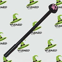 Ручка шариковая Лапка черная