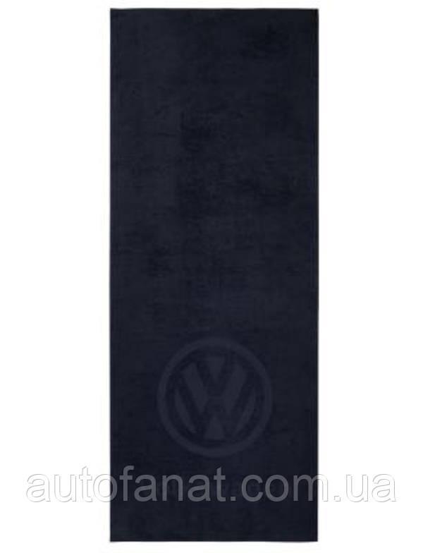 Оригинальное банное полотенце Volkswagen Logo Bath Towel, Blue (1H0084500)