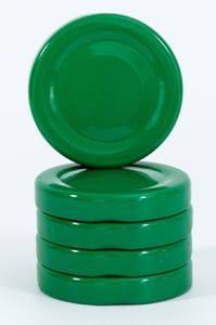 Крышка евро с резьбой 48 мм зеленая