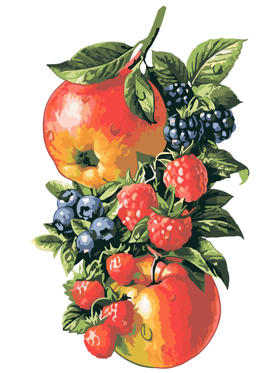 Живопись по номерам Фрукты-ягоды ArtStory AS0594 30 х 40 см (без коробки)