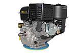 Двигатель Grunwelt GW460FE-S  / WM192FЕ-S, бензин 18,0л.с., шпонка, фото 5