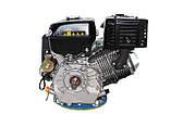 Двигатель Grunwelt GW460FE-S  / WM192FЕ-S, бензин 18,0л.с., шпонка, фото 7
