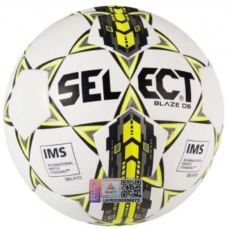 Футбольный мяч SELECT IMS Blaze DB размер 5