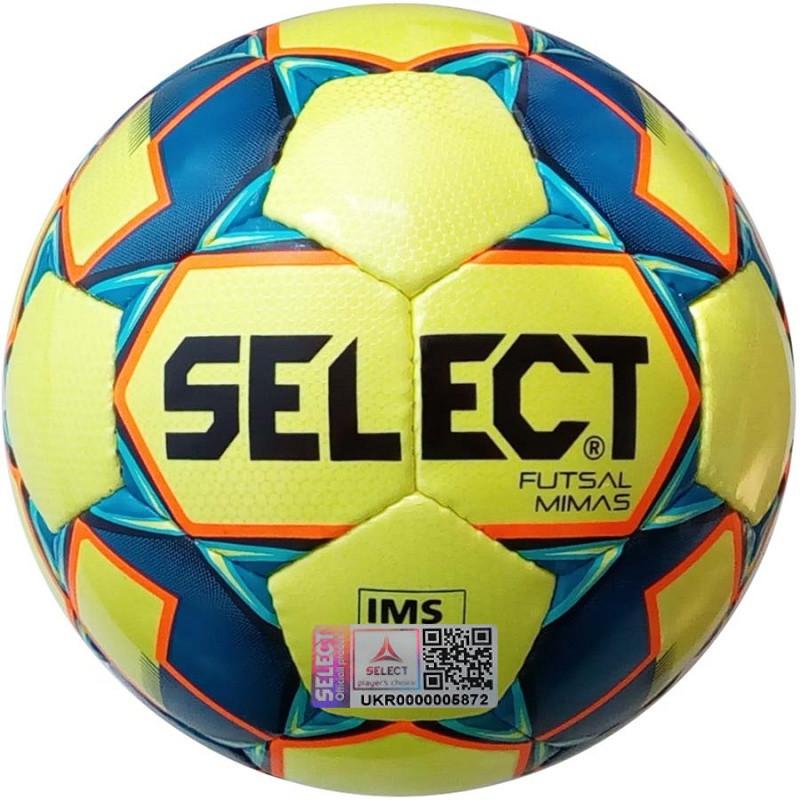 Футзальный мяч Select Futsal Mimas IMS (102) желтый