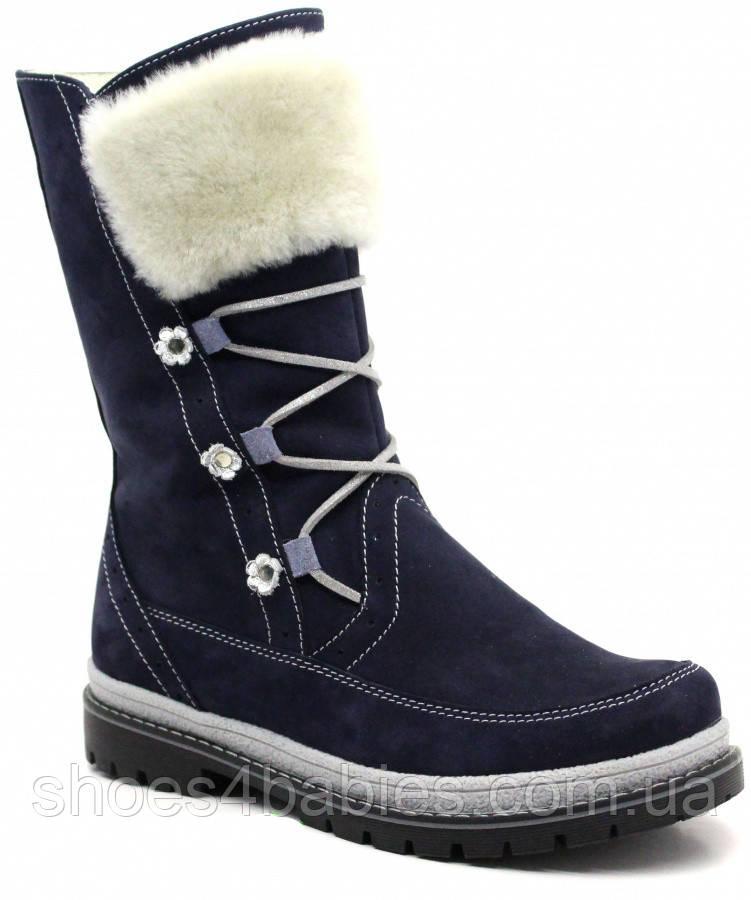 Зимові чобітки шкіряні FS р. 31 - 39 модель M868