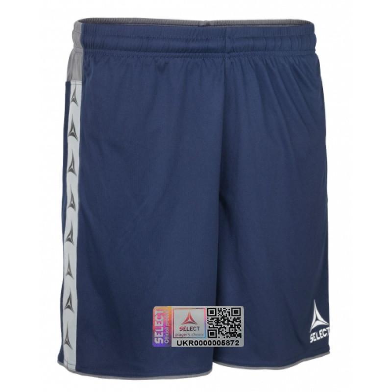Спортивные шорты мужские Select Ultimate shorts 628520 темно-синие