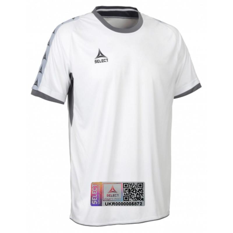 Футболка игровая мужская SELECT ULTIMATE SHIRT 628500 белая