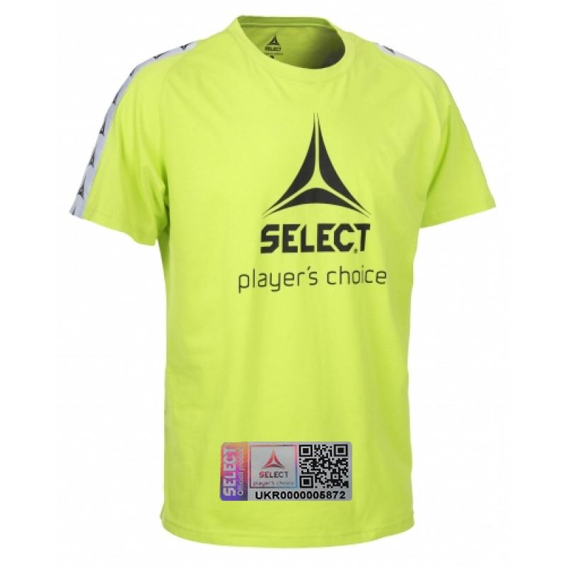 Футболка мужская Select Ultimate T-Shirt 628620 лайм