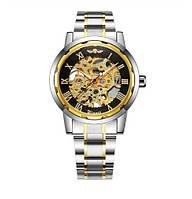 Мужские наручные механические часы Winner Skeleton