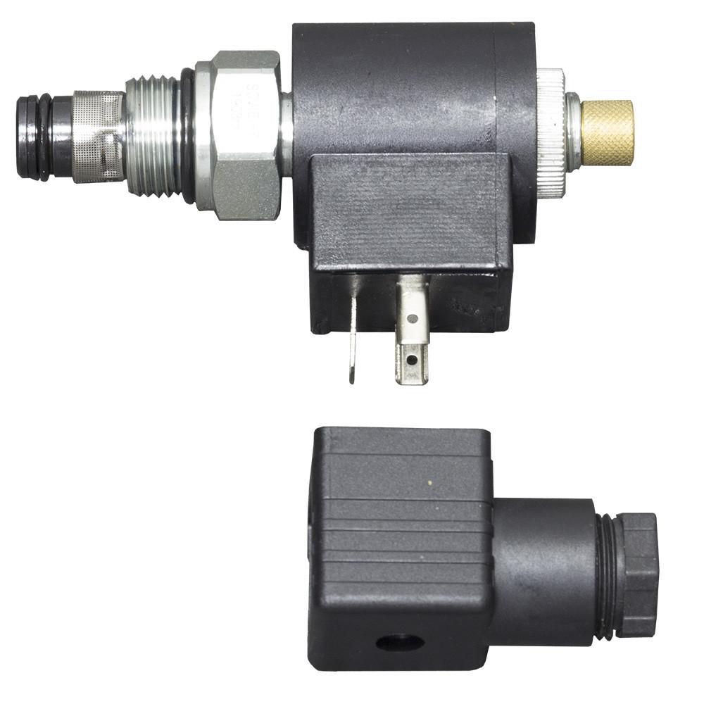 Клапан спускной для гидростанции, электромагнитный