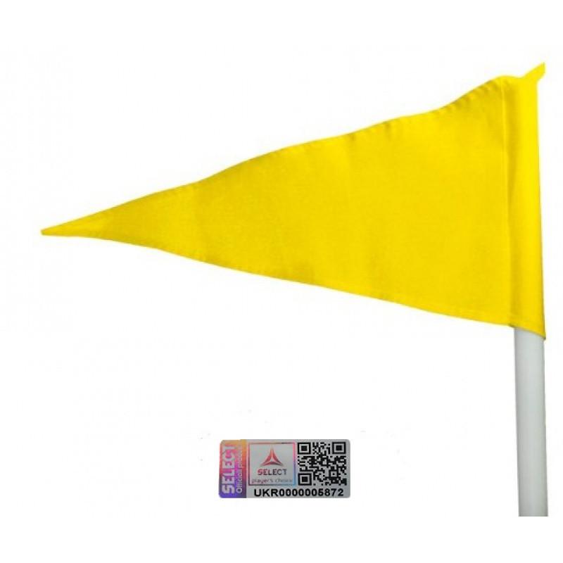 Флажки угловые Select 749030 (003) желтый