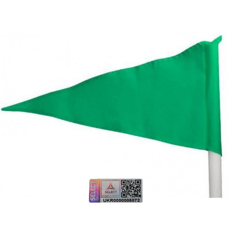 Флажки угловые Select 749030 (005) зеленый