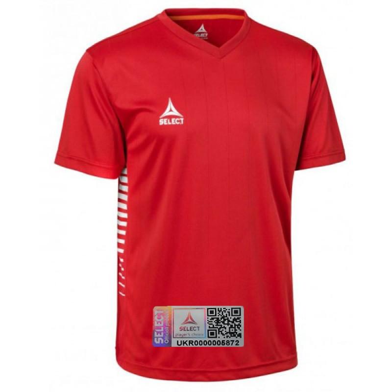 Футболка SELECT MEXICO SHIRT 621002 красная