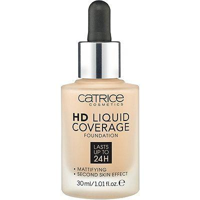 Тональная основа Catrice HD Liquid Coverage Foundation 020 Rose Beige