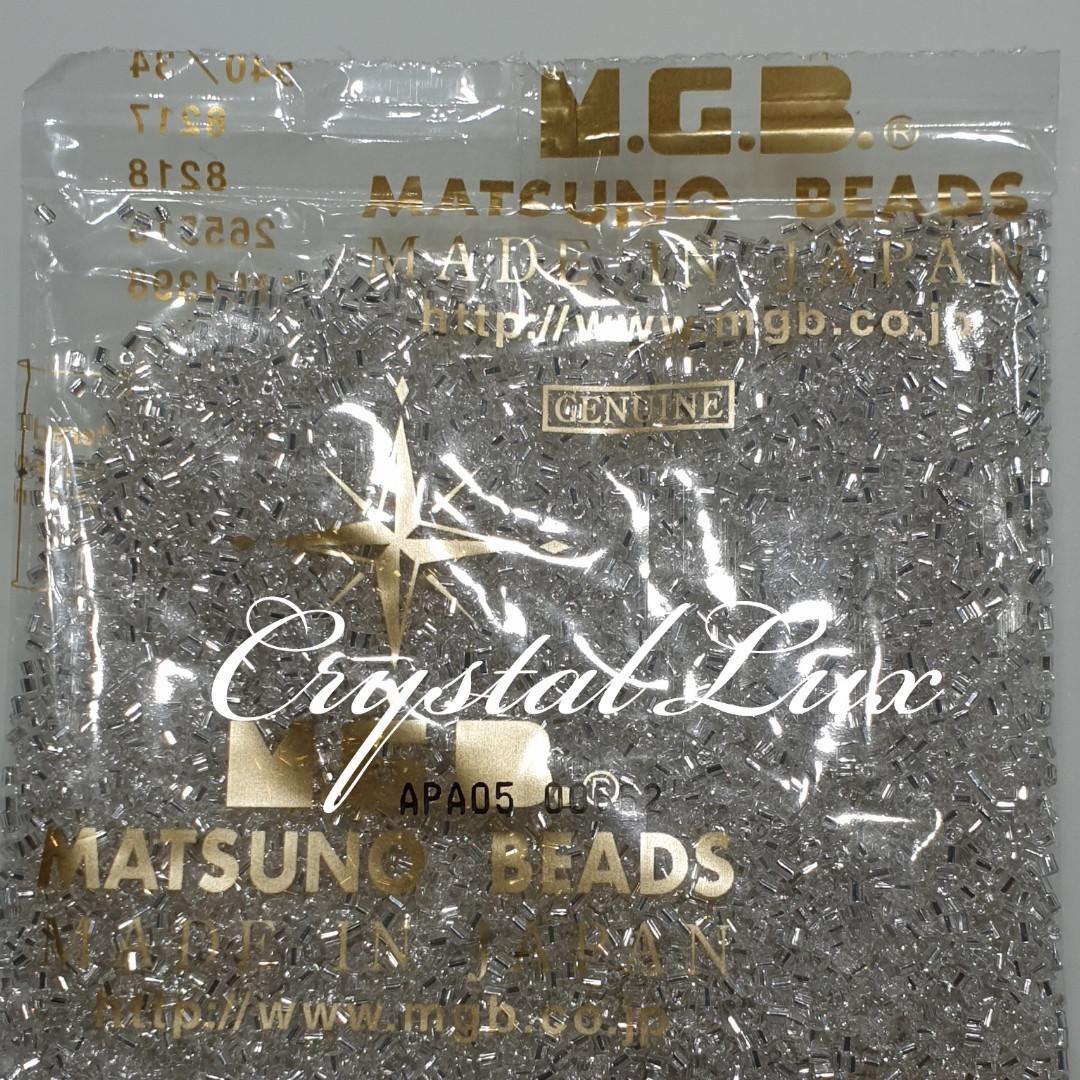 Рубка Matsuno 34 11/0 2CUT 100гр Crystal