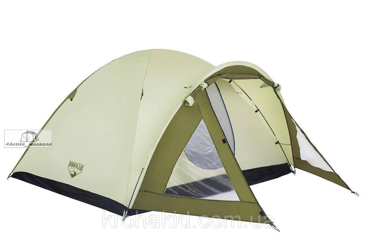 Палатка 4-х местная двухслойная,  Rock Mount 3000mm H2O, BestWay 68014