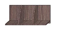 Полка навесная Дуб Давос трюфель 300х600х268мм