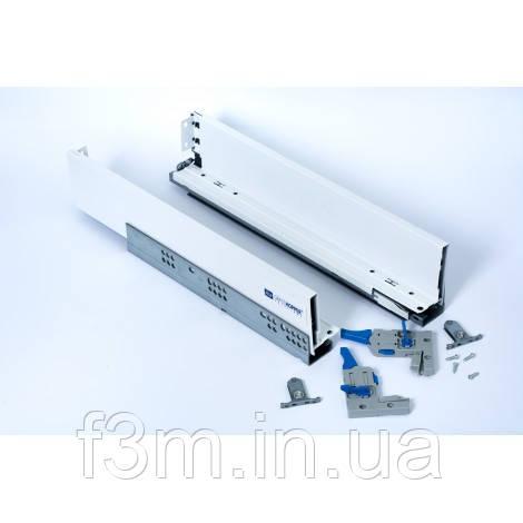 Система для выдвижения ящиков Magic Box Grass Hopper: L=450 мм, H= 80 мм, БЕЛЫЙ