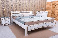 Кровать деревянная Милана Люкс с фрезеровкой