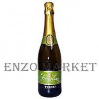 Шампанское Fragolino rosso TOSO, 0,75 литра  Белое