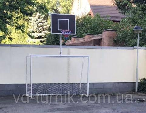 Гандбольные ворота, мини футбольные ворота с баскетбольным щитом