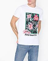 Мужская футболка белая Colo ss от Solid Дания в размере M