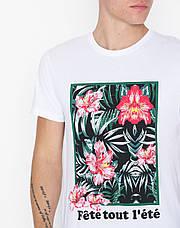 Мужская футболка белая Colo ss от Solid Дания в размере M, фото 3