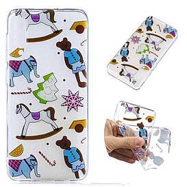 Чехол накладка для Samsung Galaxy A50 A505FD силиконовый, Toys