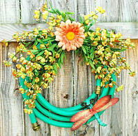 Как можно использовать садовый шланг?