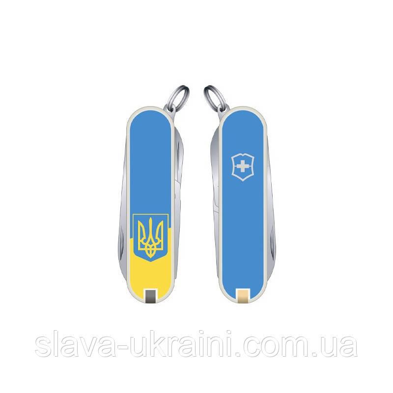 Складаний ніж Victorinox CLASSIC SD UKRAINE 0.6223.7R3