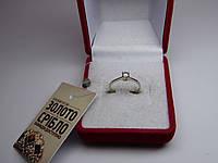 Золотое женское кольцо. Размер 15