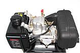 Двигатель Grunwelt GW178FE  for1100 (вал ШЛИЦЫ), дизель 6.0 л.с., Эл/ст, фото 7
