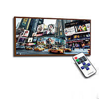Лед картина Нью-Йорк 73х33см