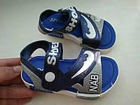 Детские резиновые босоножки CATEER 33-35 размер темно-синие