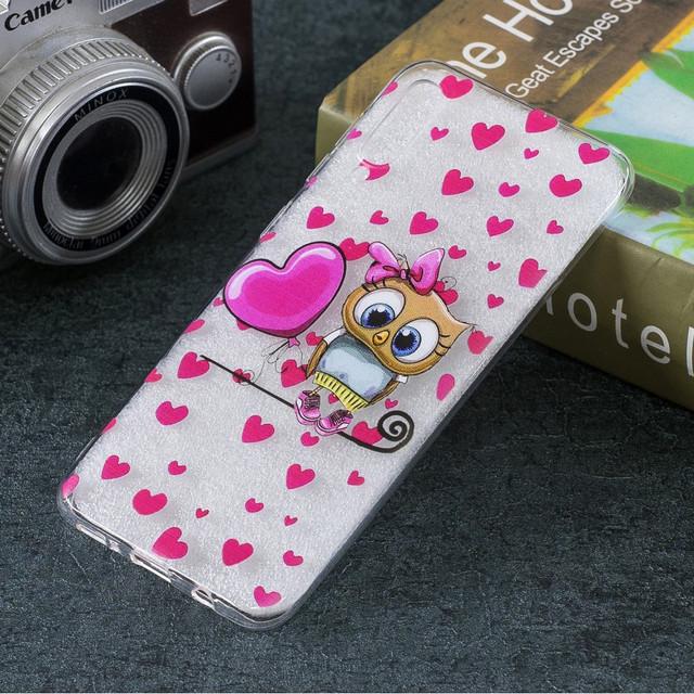 Samsung Galaxy a50 чехол накладка Милая сова