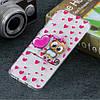 Чехол накладка для Samsung Galaxy A50 A505FD силиконовый, Милая сова, фото 5