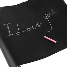 Меловая пленка черная Le Vanille 1.2 м ширина, фото 3