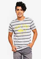 Мужская  футболка Bernard от Solid в размере L