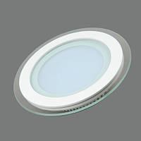Светильник LED 25w 5000К Feron AL2110 светодиодный потолочный встраиваемый со стеклом