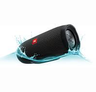 🔝 Портативная беспроводная блютуз колонка Charge 3 (аналог JBL), Чёрная, Bluetooth, для телефона | 🎁скидка