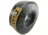 Коаксиальный кабель Dialan RG58 CCA  0.8 мм (жёлтый экран) 50 Ом 100м