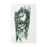 """Татуировка- наклейка  """"Часы"""", фото 1"""